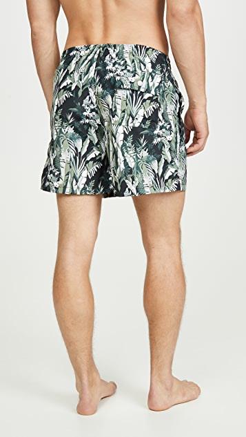 Bather Tropical Foliage Trunks