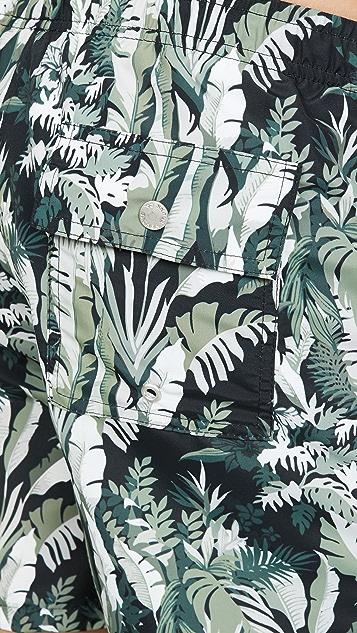 Bather Tropical Foliage Trunks