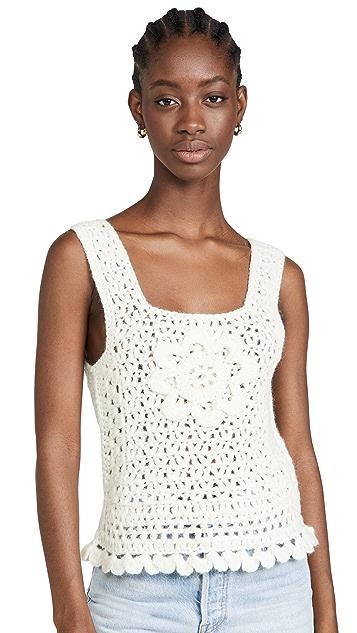 BATSHEVA Daisy Knit Vest