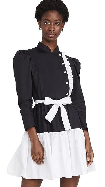 BATSHEVA Long Sleeve Sadie Dress