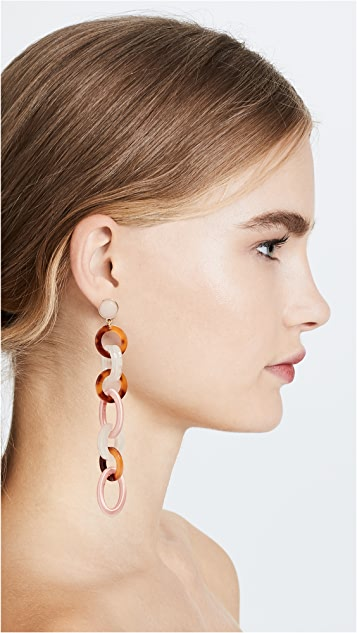 BaubleBar Fabienne Linked Drop Earrings DbUWocOQ