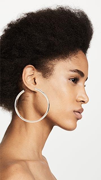 BaubleBar Penelope Hoop Earrings