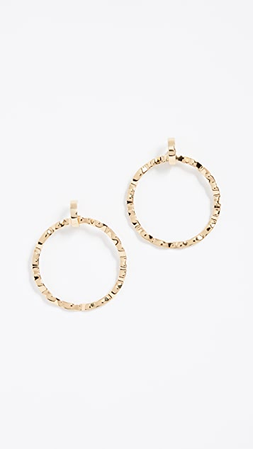 BaubleBar Savira Hoop Earrings