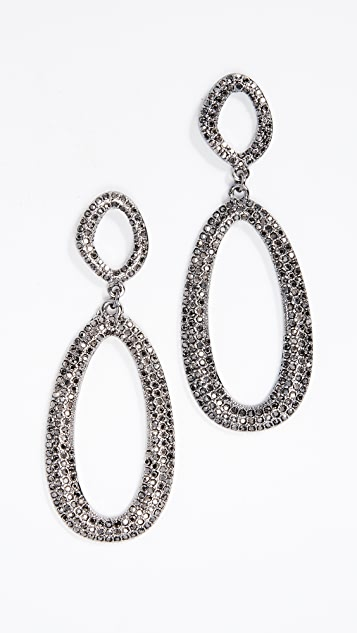 BaubleBar Daviana Hoop Earrings