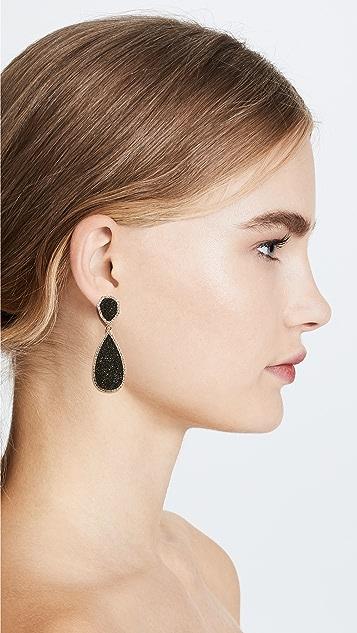 BaubleBar 月光纹理坠饰耳环