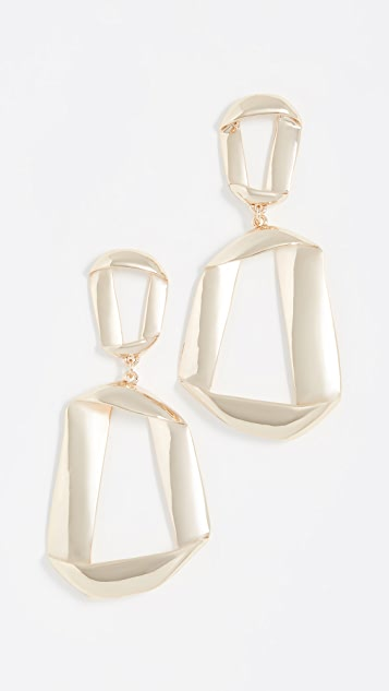 BaubleBar Narina Hoop Earrings