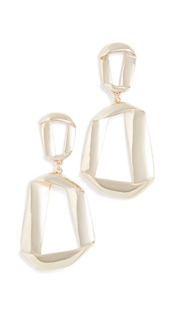 BaubleBar Narina Hoop Earrings