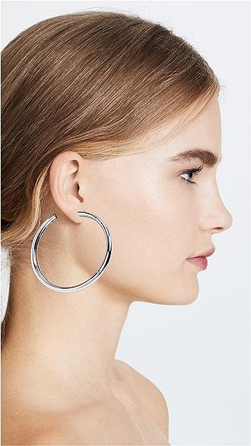 BaubleBar Penelope Hoop Earrings