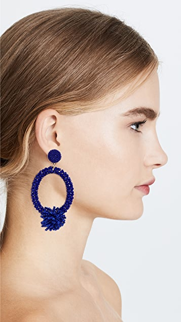 BaubleBar Burst Chandelier Earrings