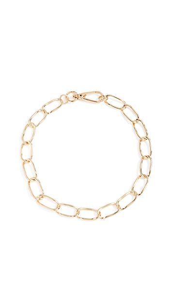 BaubleBar Geo Metal Chain Necklace