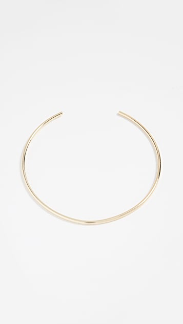 BaubleBar Geo Metal Simple Strand Necklace