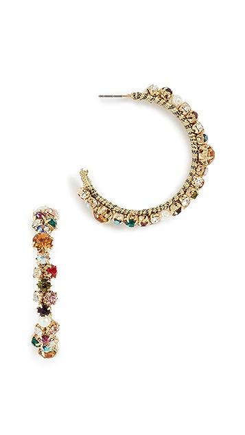 BaubleBar Multi Crystal Earrings