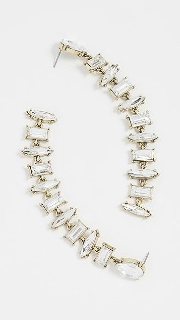 BaubleBar Crystal Rhinestone Earrings