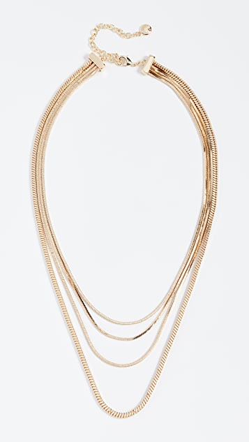 BaubleBar Snake Chain Necklace