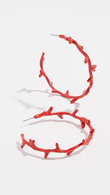 BaubleBar Belize Hoop Earrings