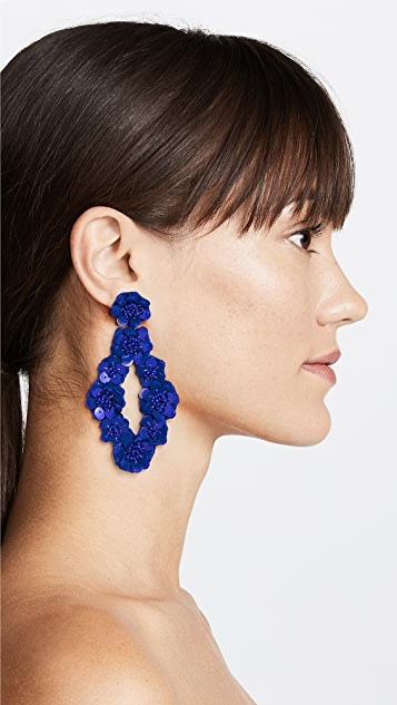 BaubleBar Tulipa Sequin Drop Earrings