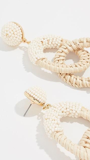 BaubleBar Santos Hoop Earrings
