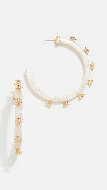 BaubleBar Estee Hoop Earrings