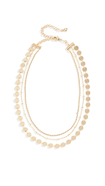 BaubleBar Sophia Layered Choker Necklace