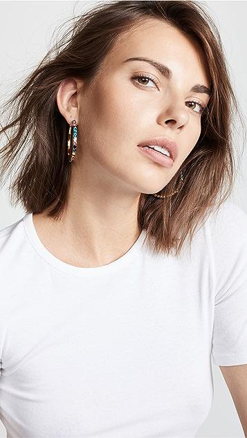 BaubleBar Georgina Hoop Earrings