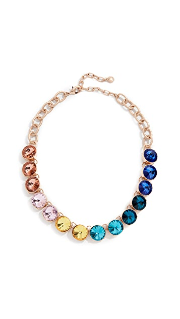 BaubleBar Crystal Strand Necklace