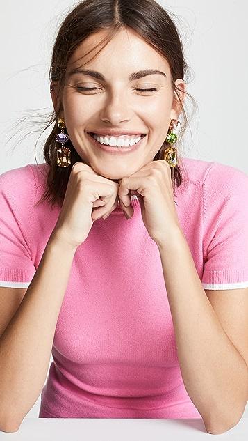 BaubleBar 3 Drop Earrings
