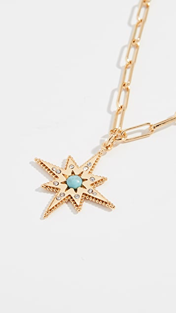 BaubleBar Beaded Star Pendant Necklace