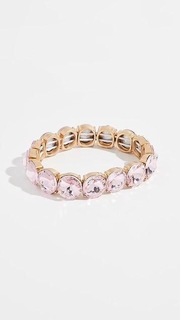 BaubleBar Large Crystal Statement Bracelet