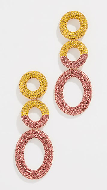 BaubleBar Mimi Hoop Earrings