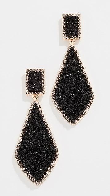 BaubleBar Twilight Druzy Drop Earrings