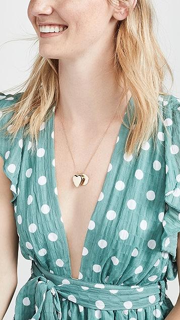 BaubleBar Amor Pendant Necklace