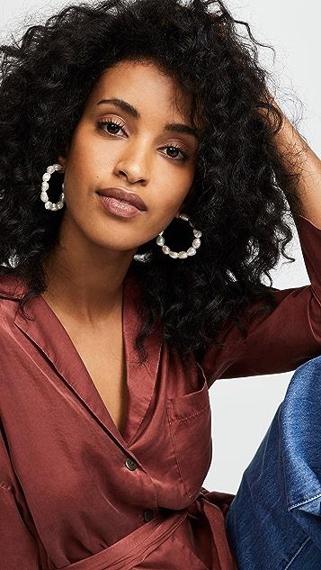 BaubleBar Dafina Hoop Earrings