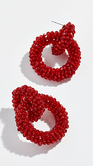 BaubleBar Emina Hoop Earrings
