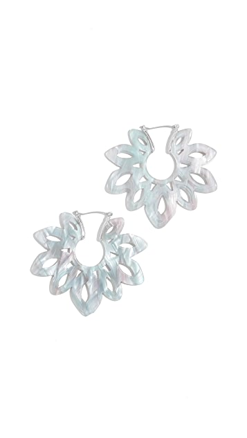 BaubleBar Rita Resin Drop Earrings