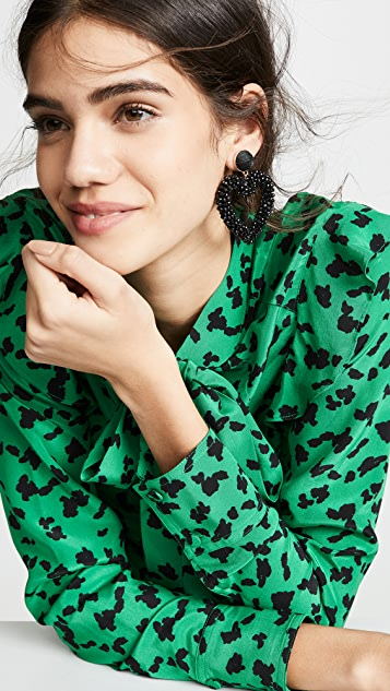 BaubleBar Amissa Heart Drop Earrings