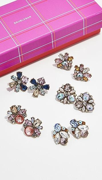 BaubleBar Подарочный набор из серег-гвоздиков Shine On