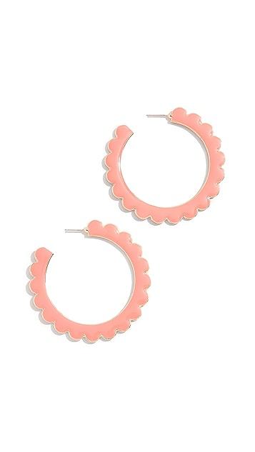BaubleBar Desideria Hoop Earrings