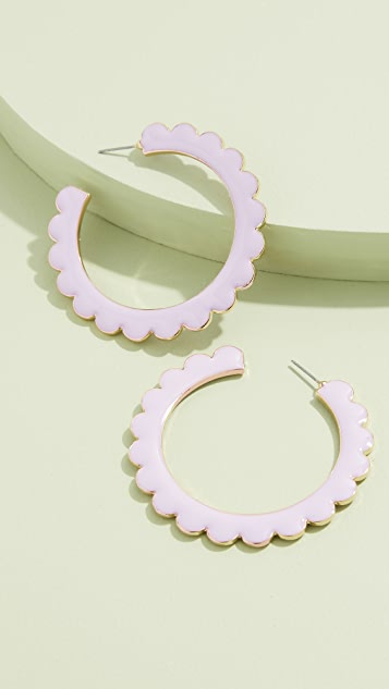 BaubleBar Desideria Hoop Earrings