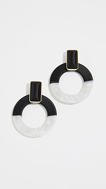 BaubleBar Emelda Hoop Earrings