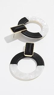 BaubleBar Emelda 圈式耳环