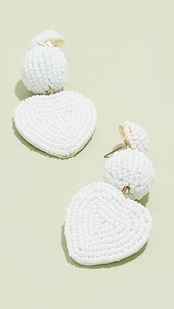 BaubleBar Серьги-капли в виде сердечек
