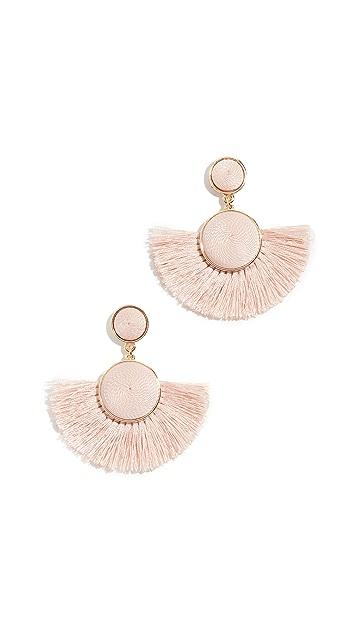BaubleBar Mini Marinella Fringe Earrings