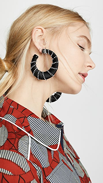 BaubleBar Aneira Hoop Earrings