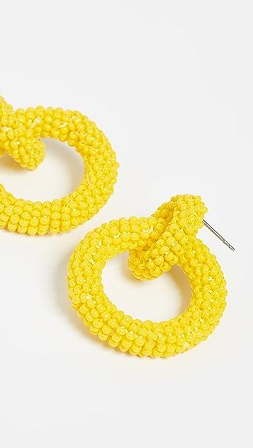 BaubleBar Mini Emma 圈式耳环