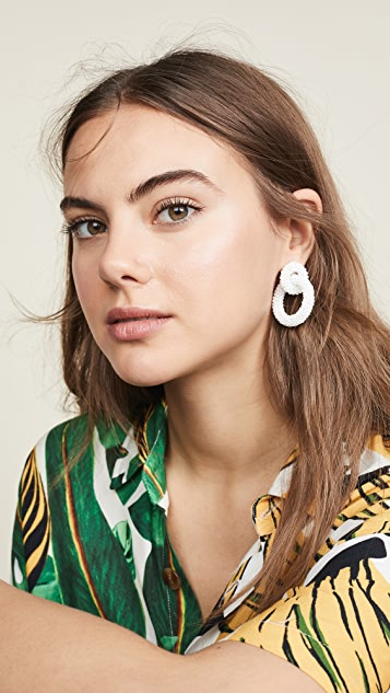 BaubleBar Mini Emma Hoop Earrings