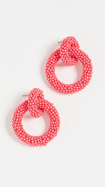 BaubleBar Mini Emma Hoop Earrings