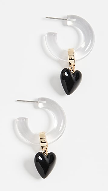 BaubleBar 心形贴耳耳环