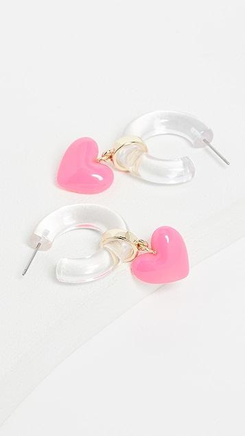 BaubleBar 心形基本款耳环
