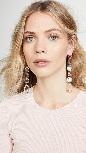 BaubleBar Statement Huggie Earrings