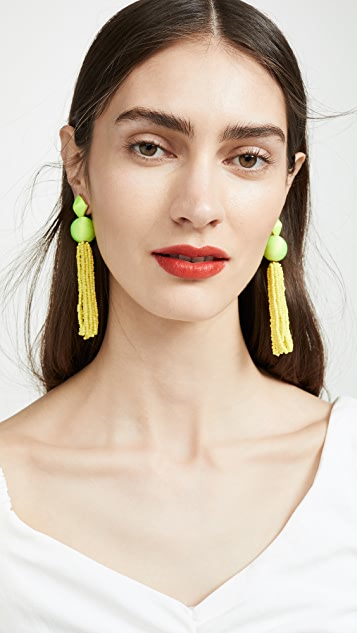 BaubleBar Azura Tassel Earrings